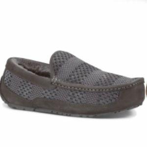 UGG Men's Ascot Weave Slippers size 12 NIB